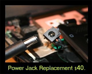 Power Jack Replacement